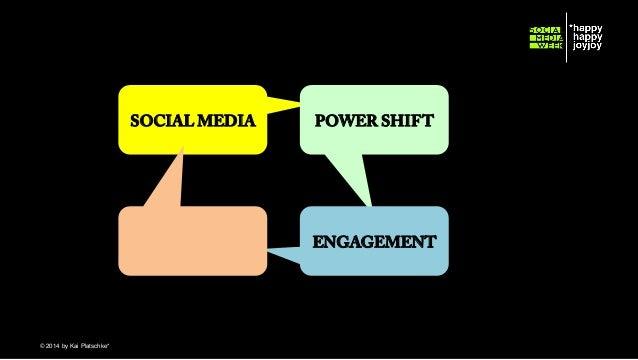 SOCIAL MEDIA  POWER SHIFT  ENGAGEMENT  © hahajotjot* ©2014 by Kai Platschke* ! !
