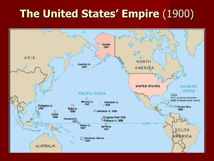 The Age Of Imperialism - Maps of us imperialism