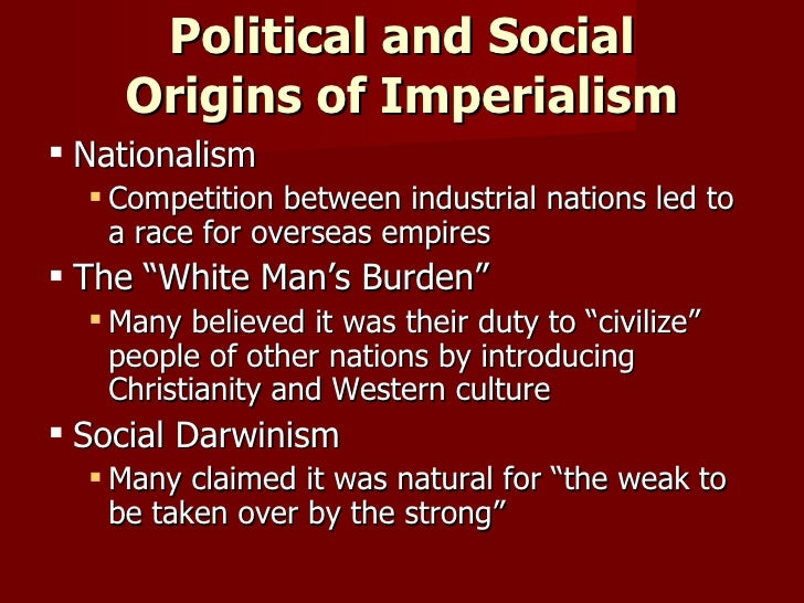 nationalism and imperialism in the industrial In historical contexts, new imperialism characterizes a period of colonial  expansion by  of napoleonic france and the end of the franco-prussian war in  1871, britain reaped the benefits of being the world's sole modern, industrial  power.