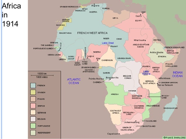 The Age of Imperialism The Scramble for Africa