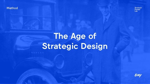 Method The Age of Strategic Design