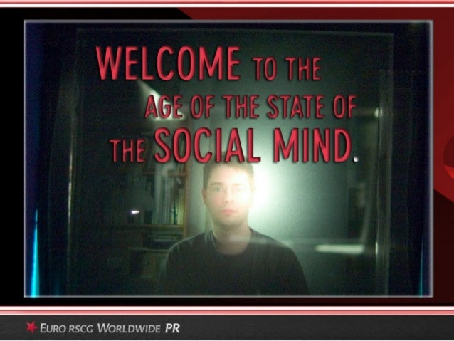 The Age of the State of the Social Mind