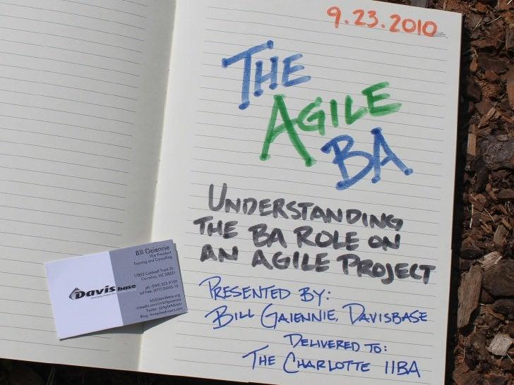 Introduction & Agenda ‣   Bill Gaiennie, Davisbase Consulting ‣   17 years in software development. ‣   7 years working wi...
