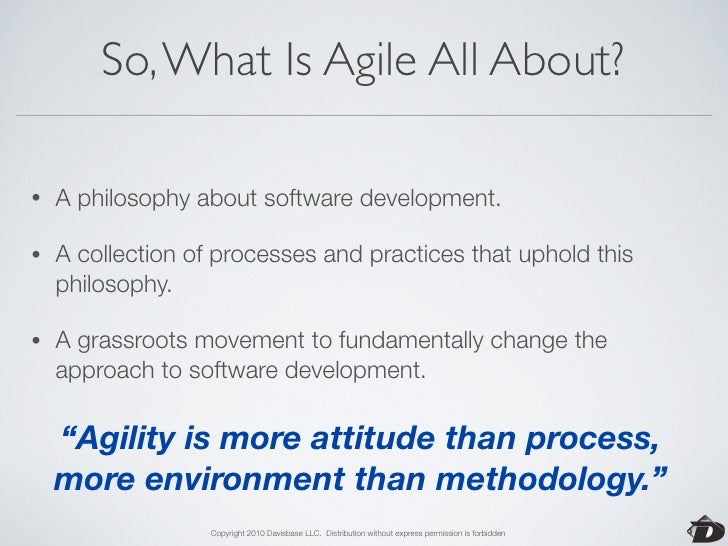 The Agile Manifesto       We are uncovering better ways of developing software by doing it     and helping others do it. T...