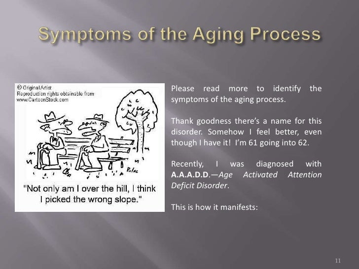 the aging process essay