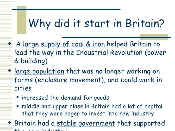 AP World Industrial Revolution (BASIC!!!!)