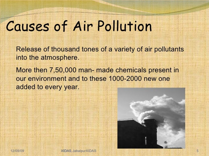 Air pollution prevention and control essay