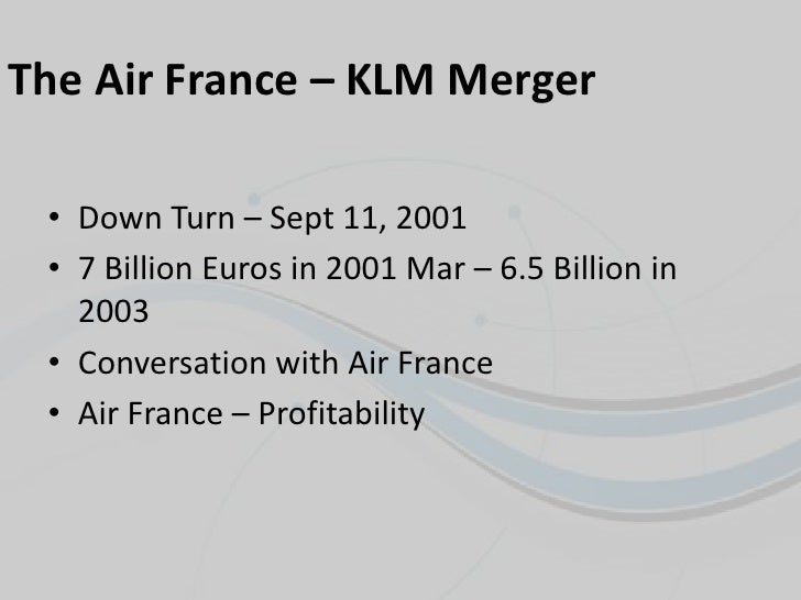 airfrance klm merger with jal Air france and royal dutch airlines (klm) will become the world's largest  it  will also take off ahead of japan airlines system corp as the.