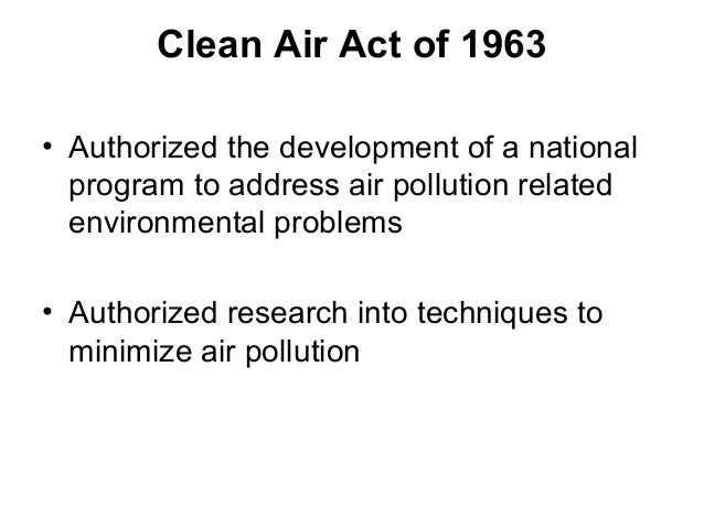 Air Pollution Control Act