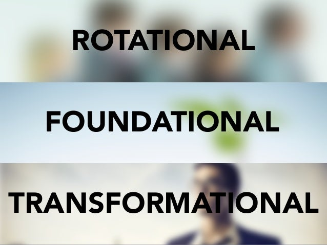 ROTATIONAL TRANSFORMATIONAL FOUNDATIONAL