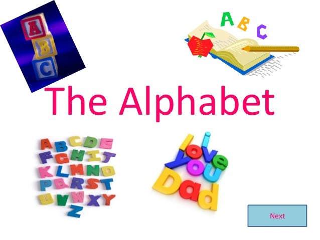 The Alphabet Next