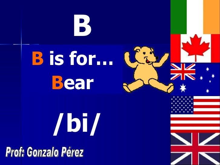 The alphabet Slide 3