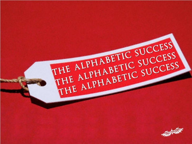 A B C of Success