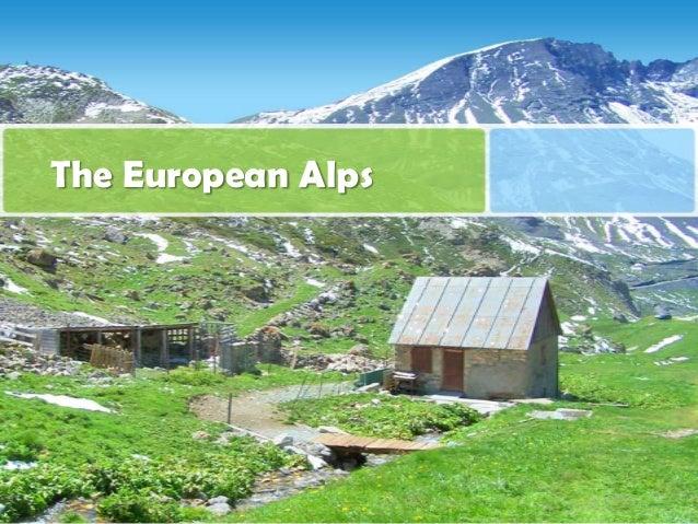 The European Alps