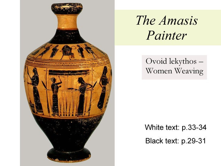 amasis painter essay Papers on the amasis painter and his world: colloquium sponsored by the getty center for the history of art and the humanities and symposium sponsored by the j paul getty museum by getty trust publications (1987-01-01) on amazoncom free shipping on qualifying offers.