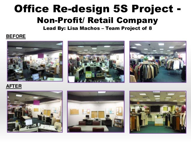 The amazing incredible powerful 5s for 5s office design
