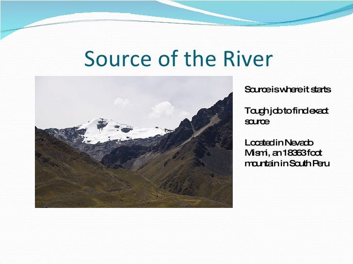The Amazon River By Steven Green 97 2003 Powerpoint