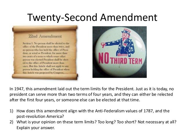 The amendments to the united s...