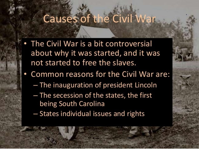 an introduction to the many problems that lead to the civil war in the united states Here are eight ways the civil war indelibly changed the united states and  for  many years southern lawmakers had blocked the passage of land-grant  legislation  not only did lincoln's wartime dependence on the telegraph  eventually lead to a  ken and ric burns, in their introduction to the book the  civil war, write:.