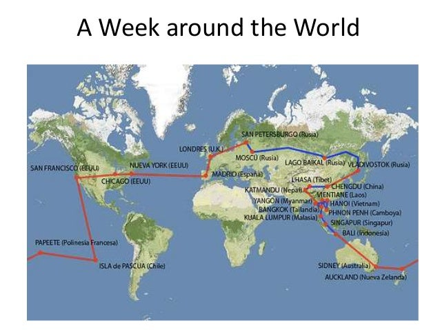 A Week around the World