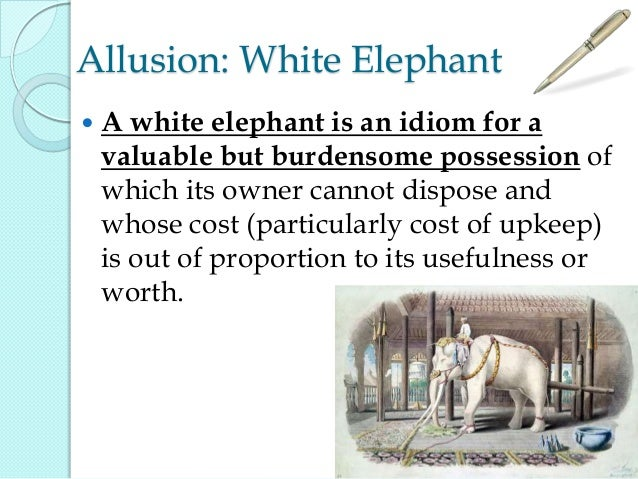 White Elephant In The Room Idiom