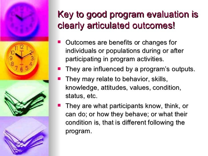 Program Evaluation In The Non-Profit Sector