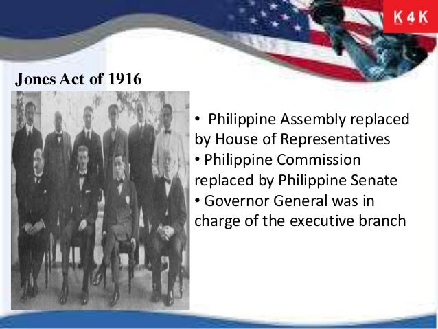The American Occupation and The Philippine Commonwealth