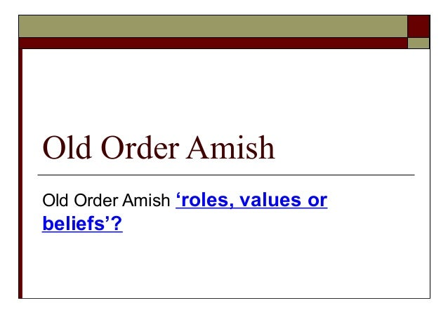 What's the difference between Amish and Mennonites?