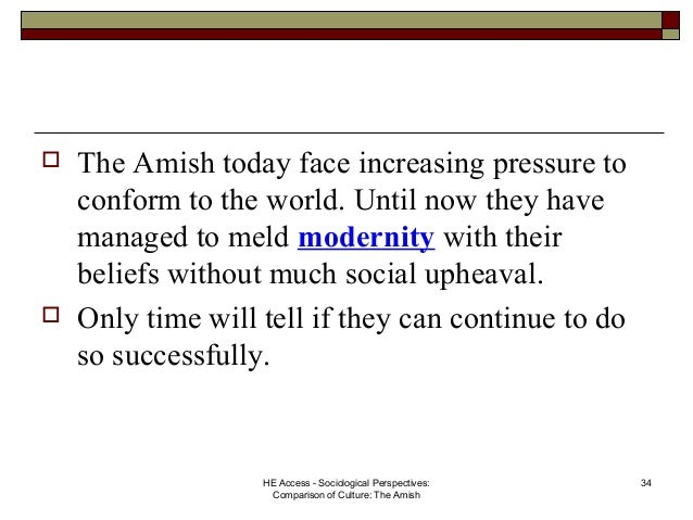thesis statement amish culture Amish: a culture worth learning from - social process theory views criminality  as a  [tags: amish culture fundamentalist religion essays]  seeing as the  central theme in the film wtiness - seeing as the central theme in the film.