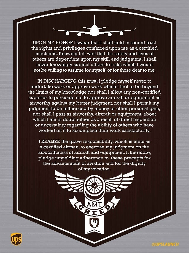 Airmen From The 4th Aircraft Maintenance Squadron Recite Mechanics Creed During A Dedicated Crew Chief