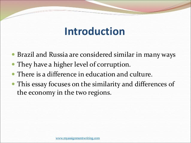 The analysis of the brazilian and russian corruption