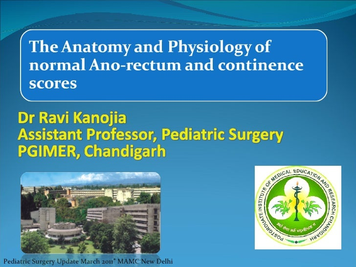 "Pediatric Surgery Update April 2o10"" MAMC New Delhi"