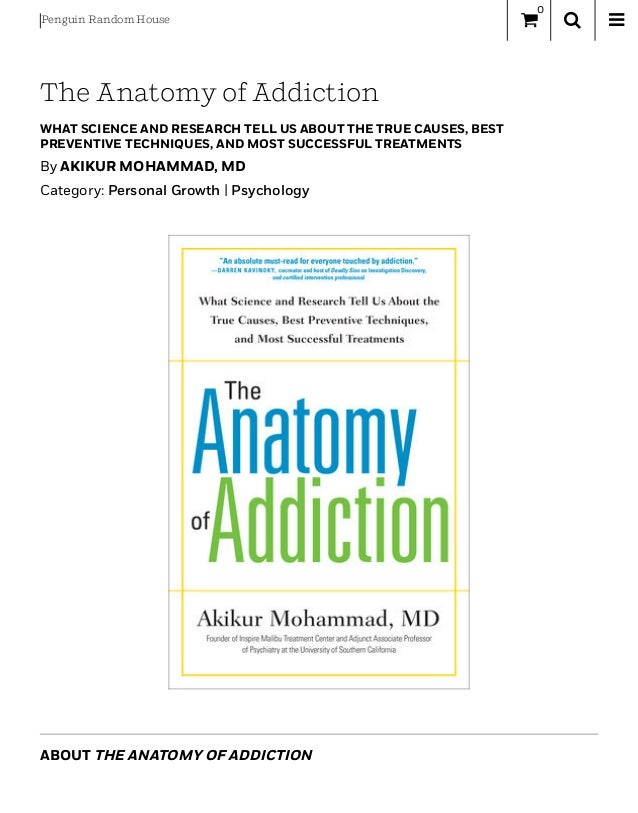 The Anatomy Of Addiction By Akikur Mohammad Md