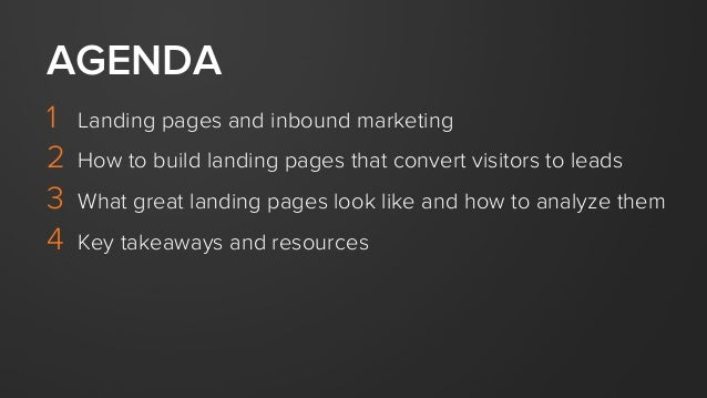 The Anatomy of a Landing Page Slide 3