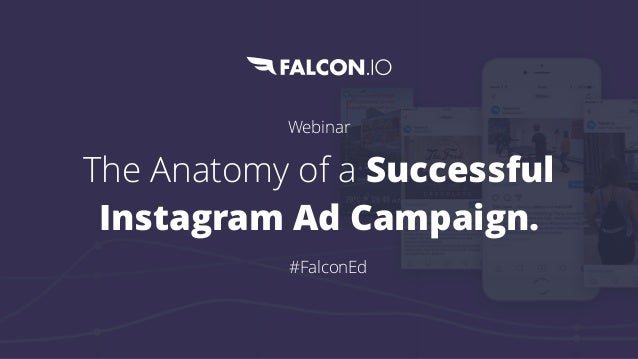 Webinar The Anatomy of a Successful Instagram Ad Campaign. #FalconEd