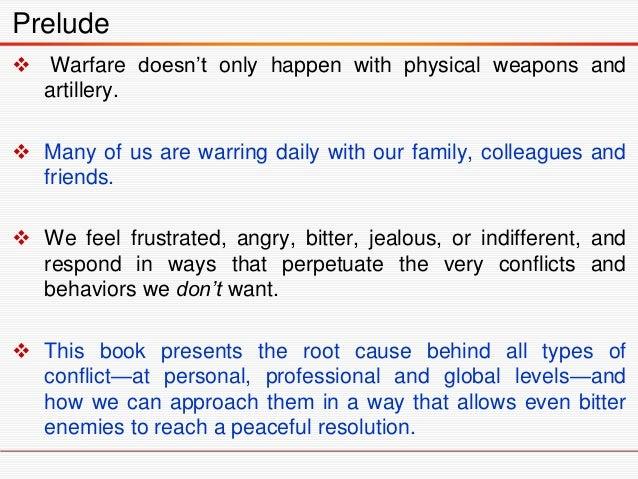 The Anatomy of Peace Slide 3