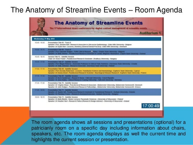 The Anatomy Of Streamline Events
