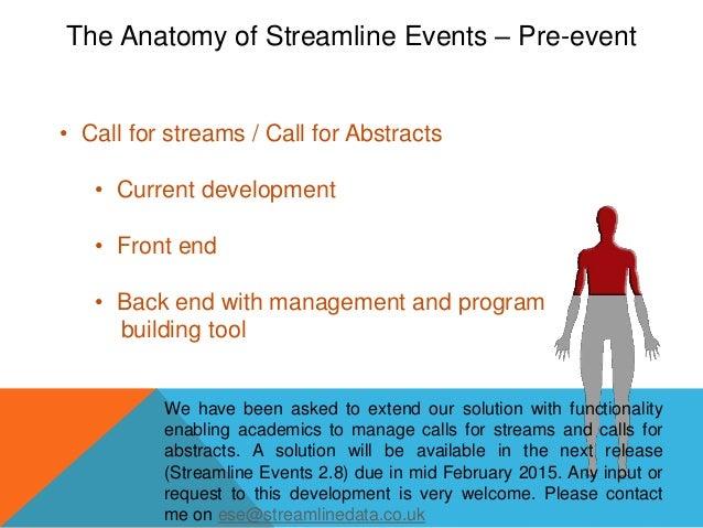 The Anatomy Of Streamline Events