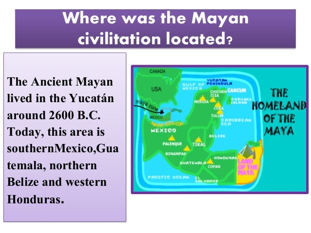 The ancient mayan cilivitation for kids