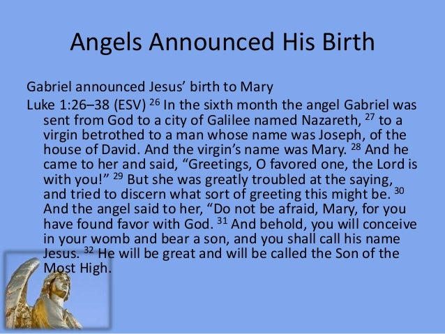 The angels of christmas – Who Announced the Birth of Jesus
