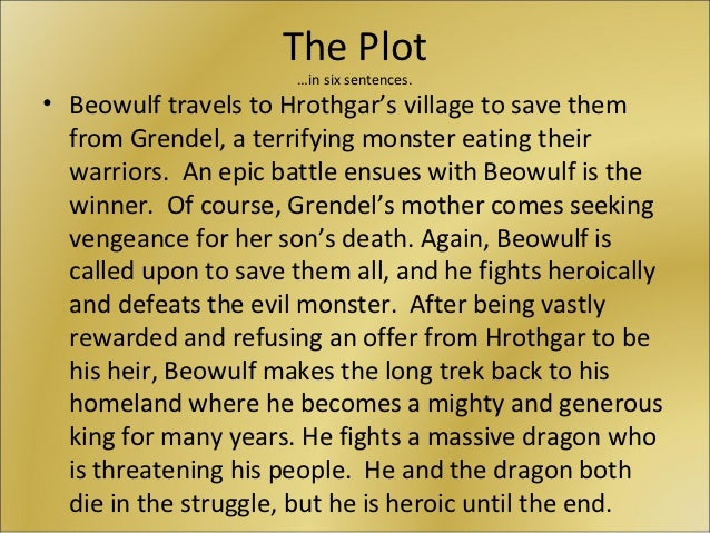 the contrasting points of view in grendel and beowulf Comparing the movie the 13th warrior and the novel beowulf  the character  defeats grendel in the poem but he does not defeat all of the  though the story  was from his point of view, the character buliwyf was called upon.