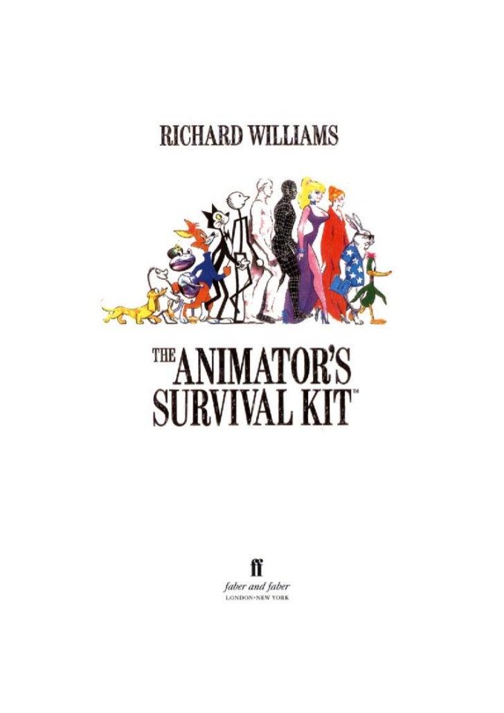 The animators survival_kit_-_richard_williams