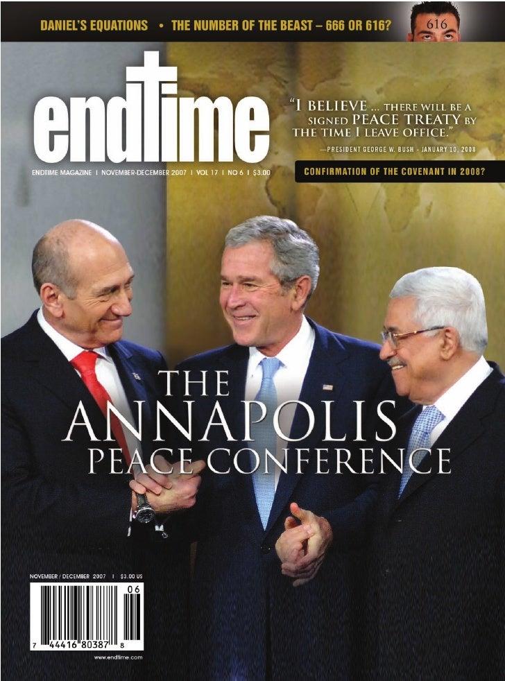 2   November - December 2007 I ENDTIMEMAGAZINE   SubscribeNow I www.endtime.com I Call 1.800.Endtime