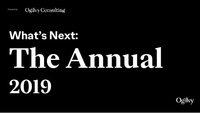 Powered by What's Next: The Annual 2019