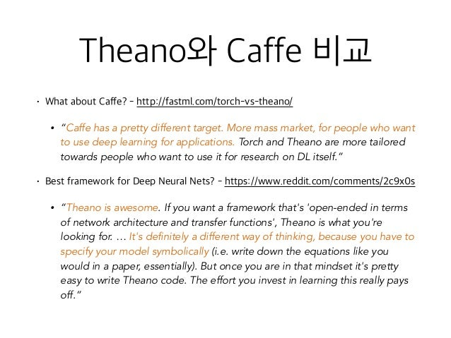 caffe machine learning