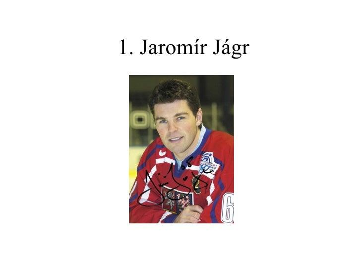 1. Jaromír Jágr