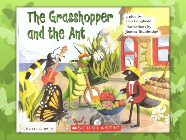 The Ant and The Grasshopper - scanned pages from the book
