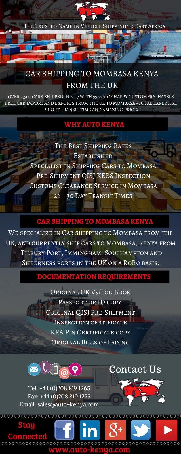 Auto-kenya Car Shipping Service
