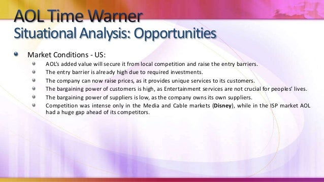 Case study aol time warner