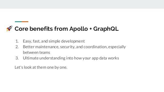 The Apollo and GraphQL Stack